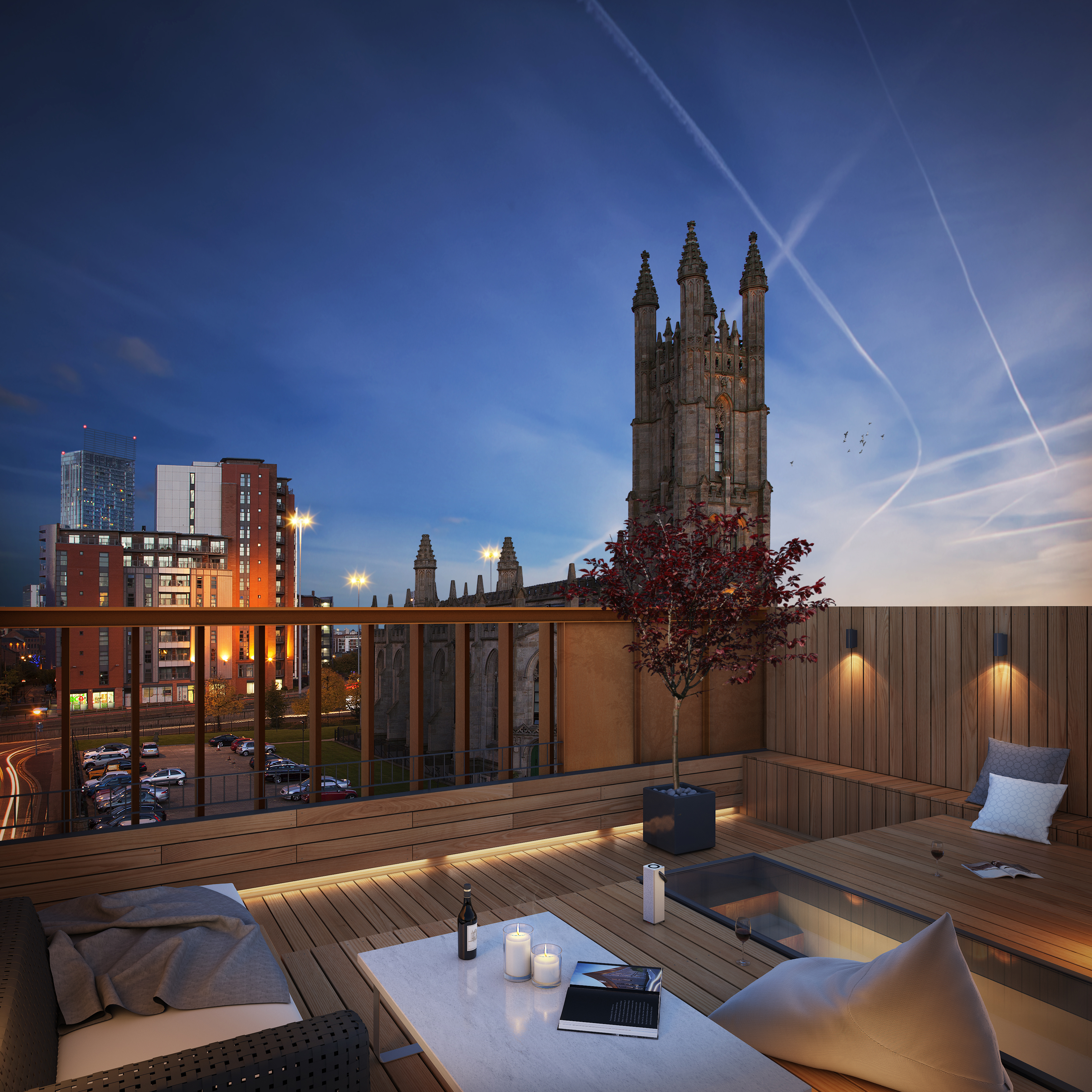 Manchester Rooftop Apartment