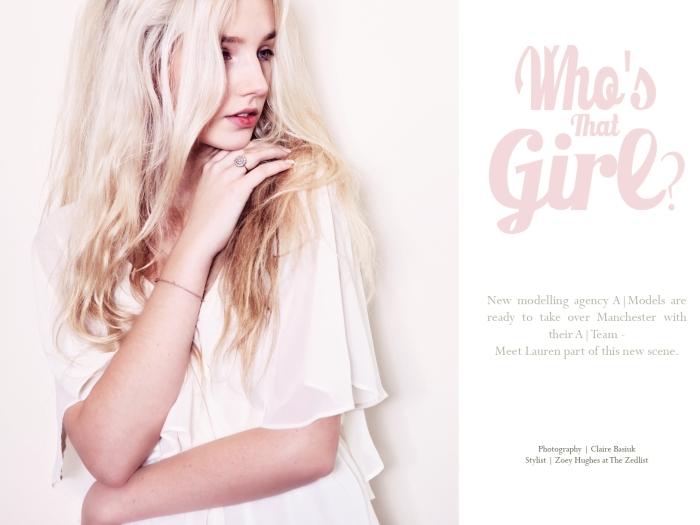 Claire Basiuk - A|Models - Lauren - 01